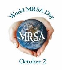 2 October is World MRSA Day