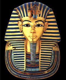 King Tutankhamun's mask
