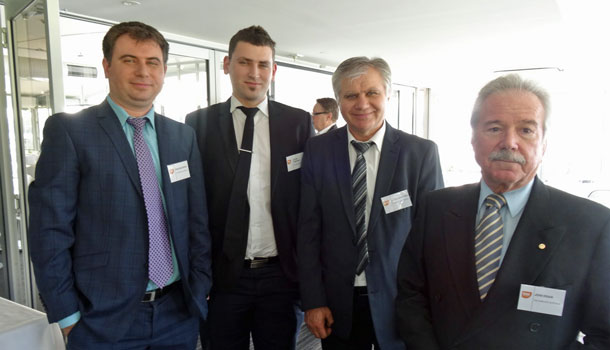 From left: VDG Services' Dean Graoroski, Steven Tanusoski, Vlado Graoroski and John Eriani