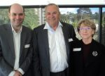 From left: Andrew Thackrah CAF, Terry Corby President BSCAA NSW Division, Barbara Connolly BSCAA