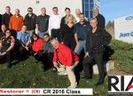 RIA Certified Restorer Class 2016 Chicago