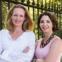 UrbanYouco-founders Elke Keeley and Noga Edelstein.