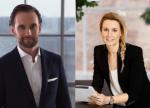 Camilla Ramby, Head of Marketing and Casper Brorsen, Head of Strategy & Business Development.